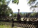 Hřbitov na Hostýně.