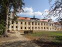 Bývalé hospodářské objekty velehradského kláštera na jeho jižní straně.